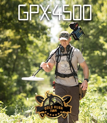 Latest Gold Detectors GPX 4500 GPX