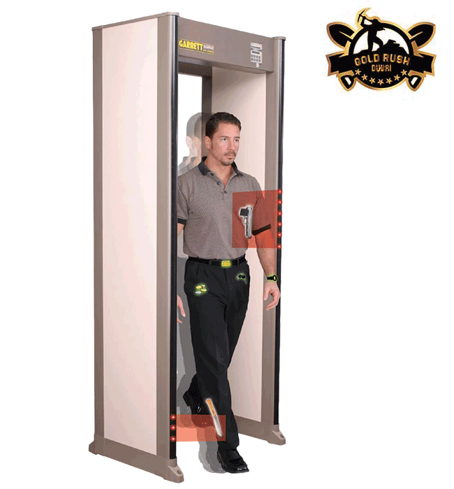 PD 6500i™ WALK-THROUGH METAL DETECTOR