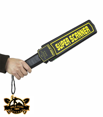 Hand Metal Detector Super Scanner